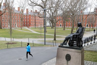 Harvard Yard, Cambridge, Massachusetts