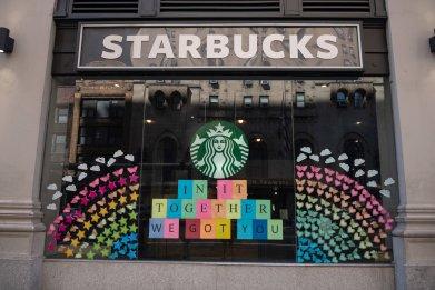 starbuck new york city June 2020