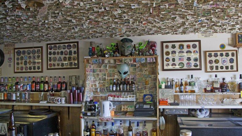 Rachel, Nevada bar