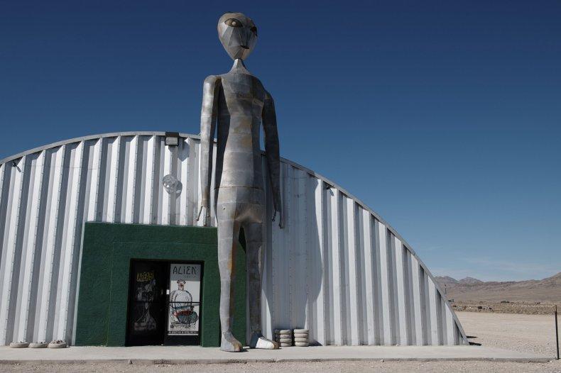 Alien Research Center in Hiko