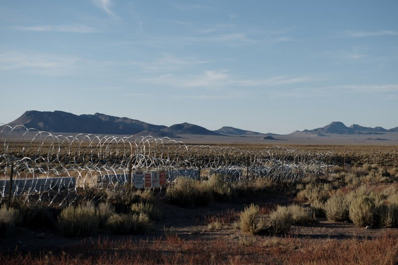 Fenced off Area 51