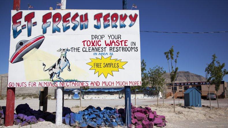 ET Fresh Jerky sign