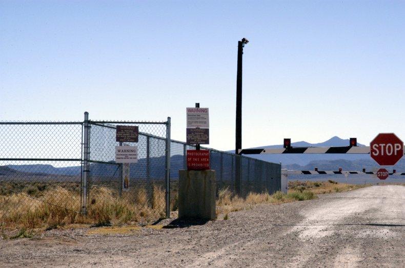 Guard gate Area 51