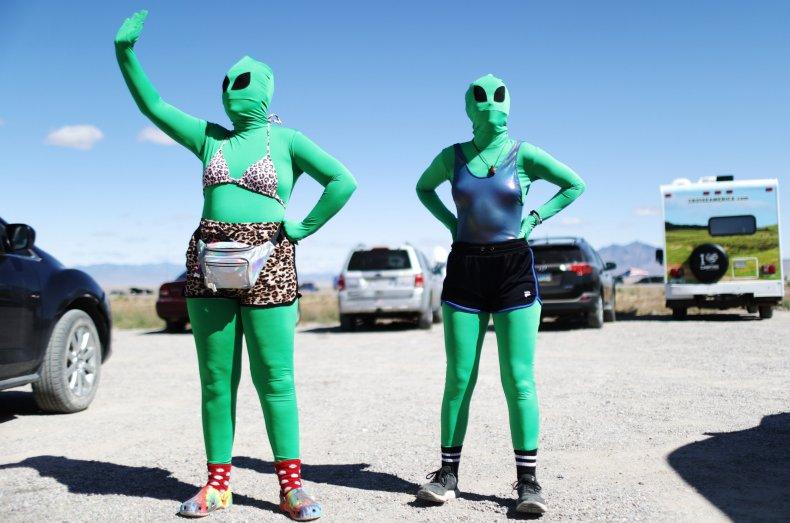Alien costumes