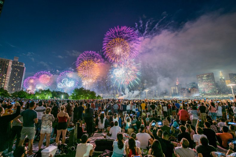 july 4 fireworks New York City 2017