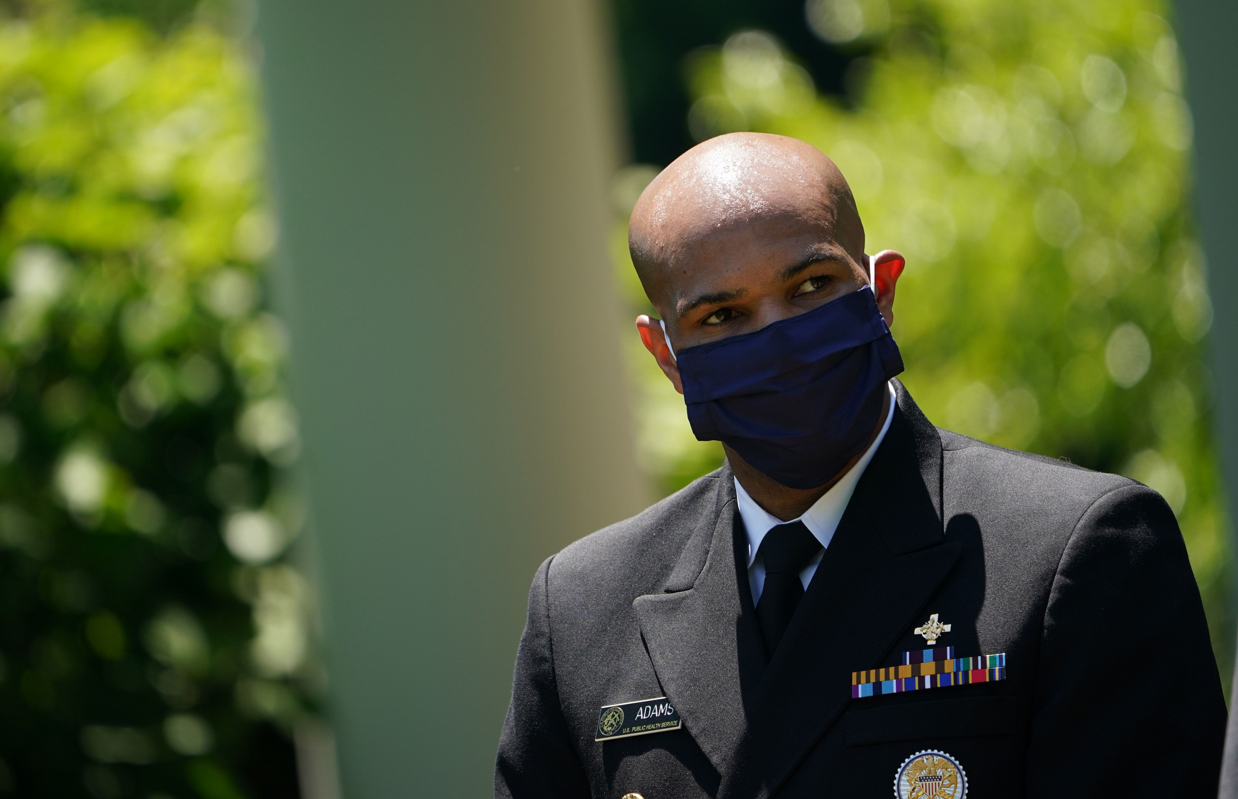 """Surgeon General says if federal govt. makes face masks mandatory, many people will """"rebel"""""""