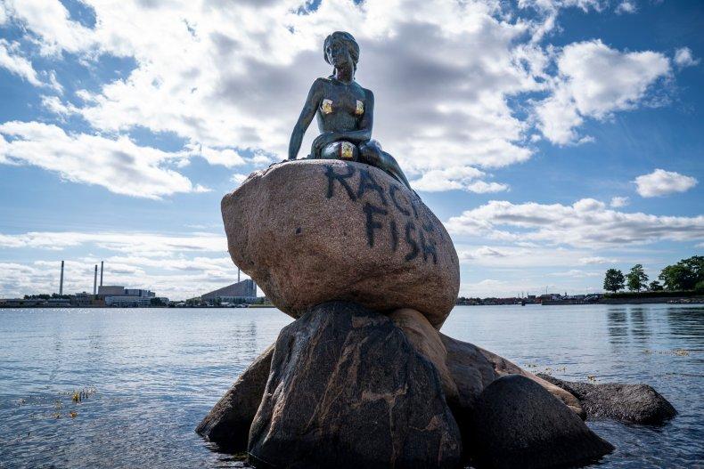 Denmark Little Mermaid sculpture