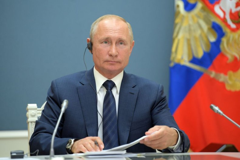 Putin Moscow Video Conference