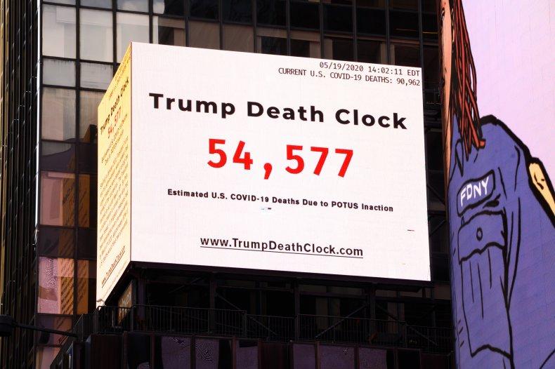 Trump Death Clock