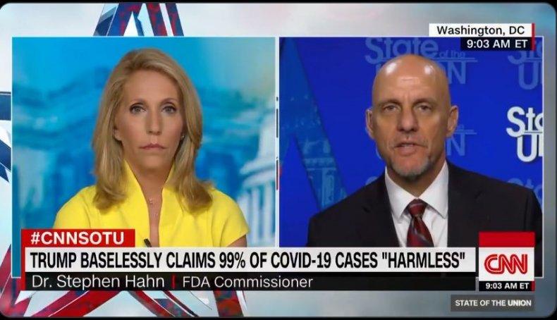 fda commissioner coronavirus cnn response