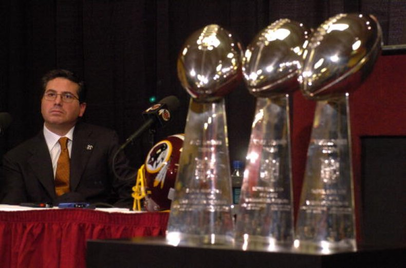 Washington Redskins Owner Daniel Snyder