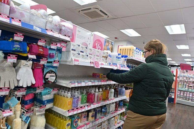 Hand Sanitizer Shopping