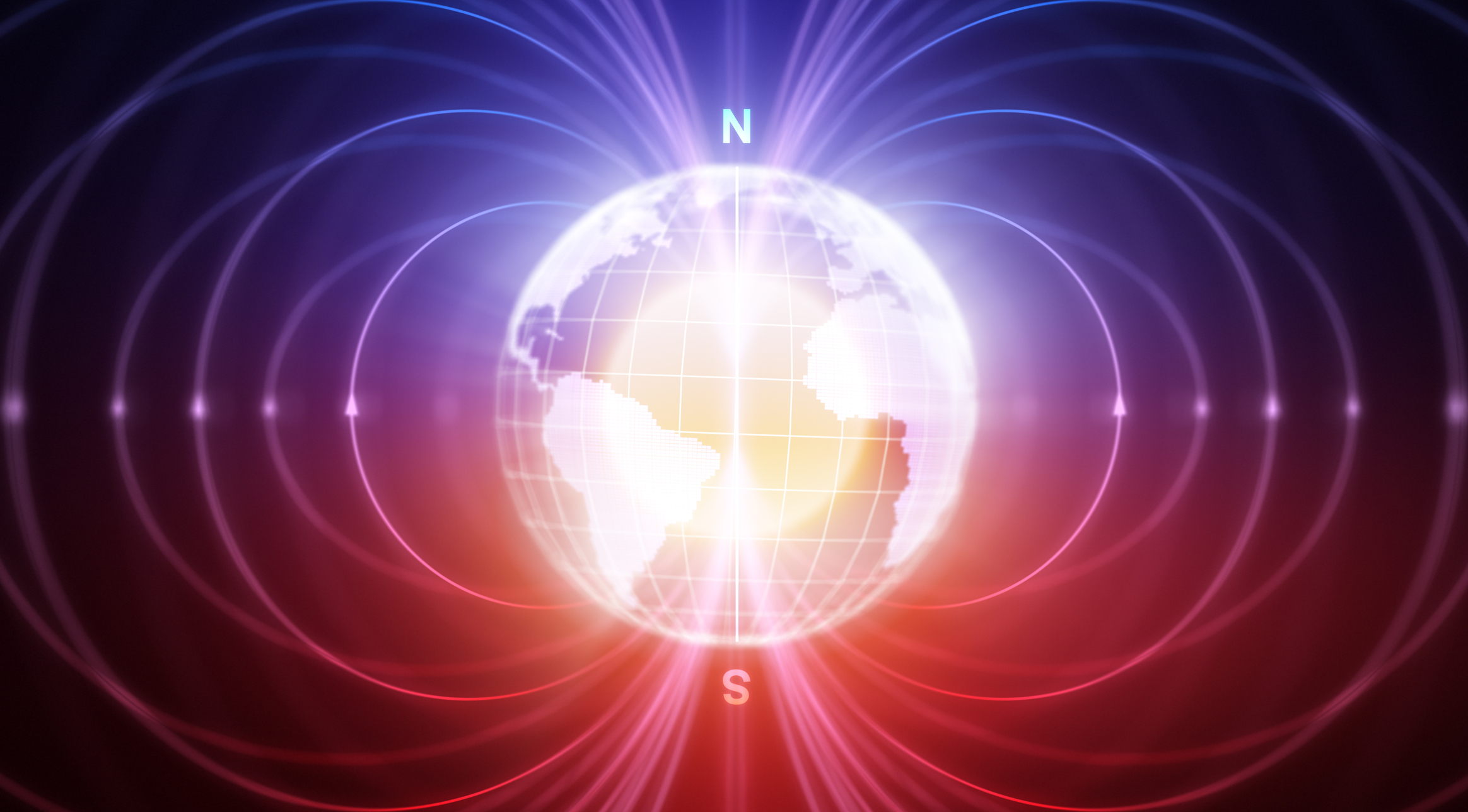 Earth's magnetic field can change direction 10 times faster than thought