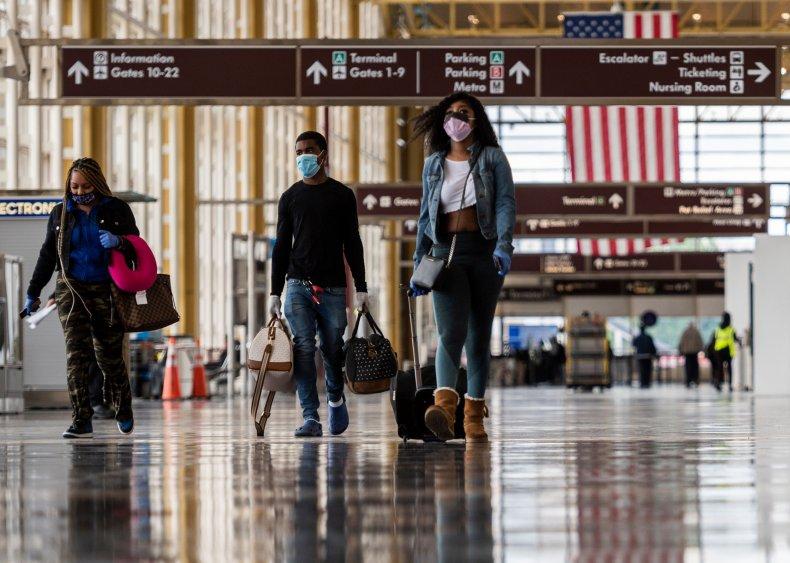 Airport, Arlington, Virginia, May 2020