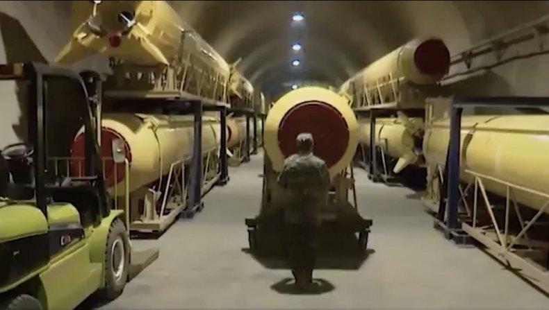 iran, underground, missile, city, complex