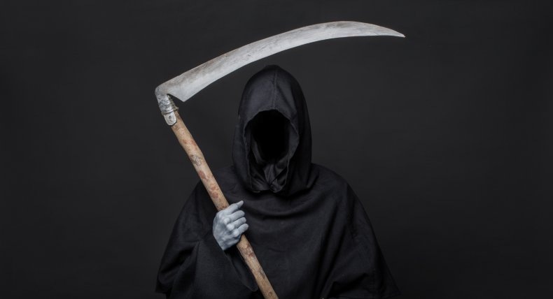 grim reaper Florida coronavirus COVID-19