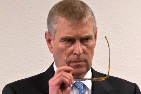 Prince Andrew at the World Economic Forum