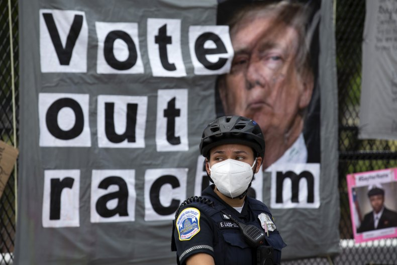 Racism protest