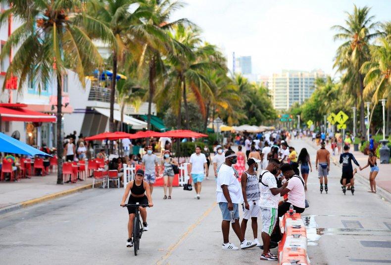 Miami Beach Florida July 2020
