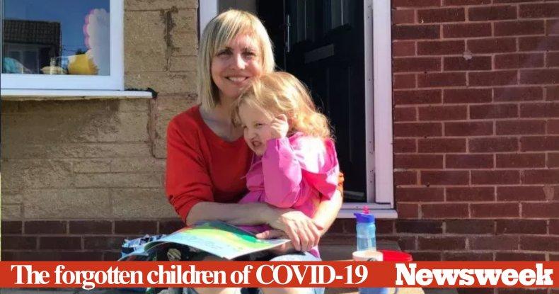 Forgotten Children of COVID-19 graphic