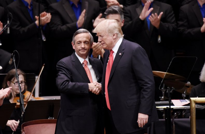pastor robert jeffress donald trump