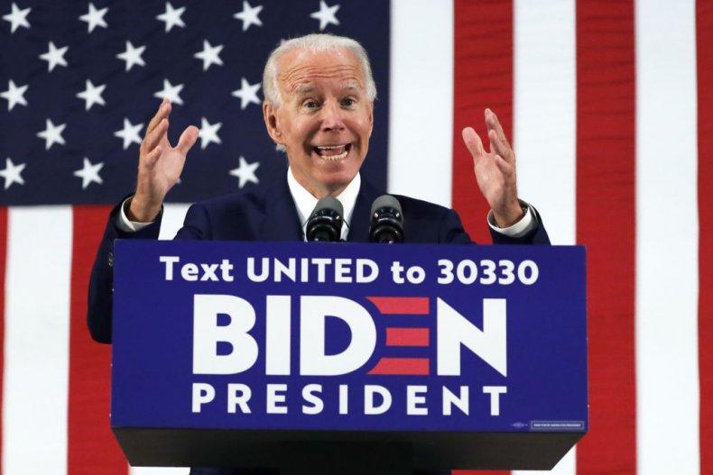 Joe Biden in Wilmington, Delaware