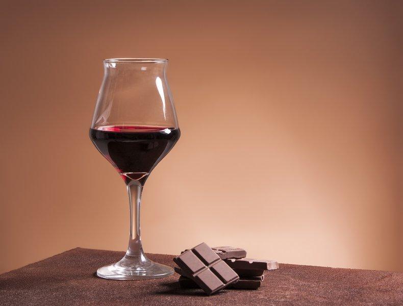 Wine to Wash Down Chocolate