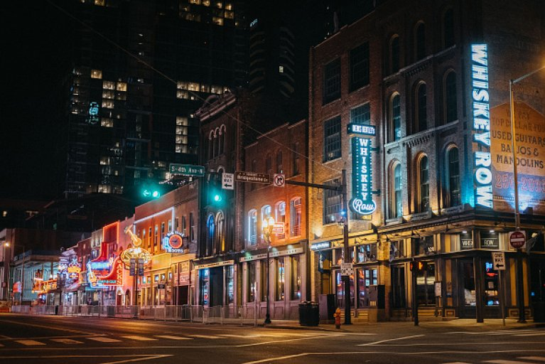 Nashville Downtown Broadway