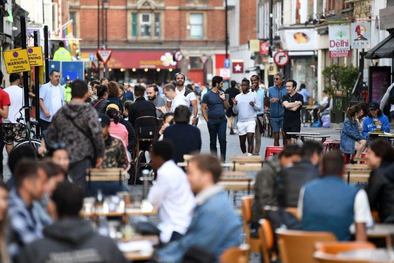 Bars in Soho, London, open