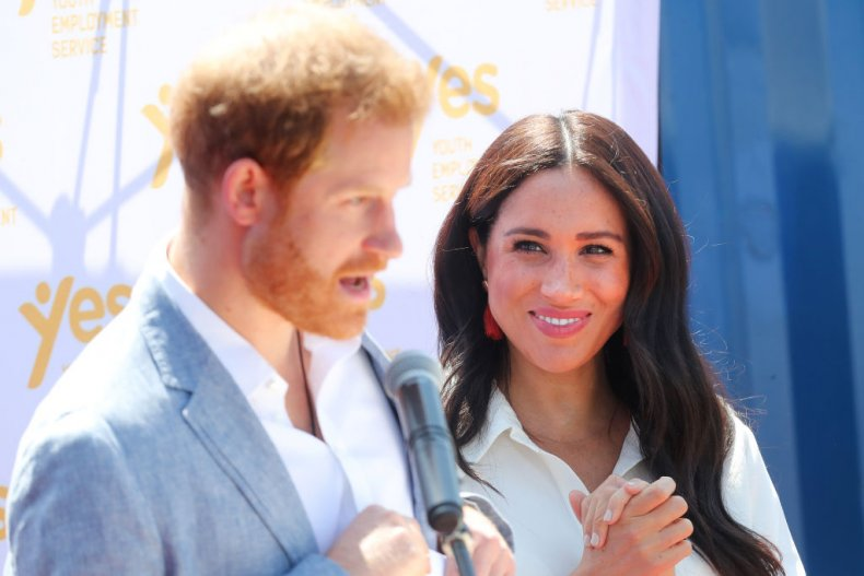 Prince Harry and Meghan Markle, South Africa