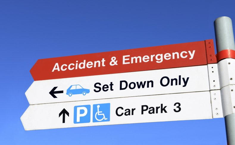 NHS staff car parking