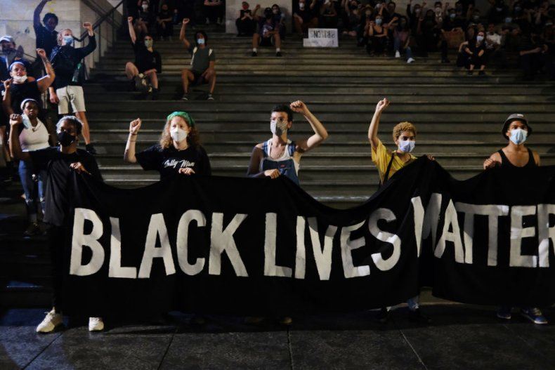 BLM in Manhattan