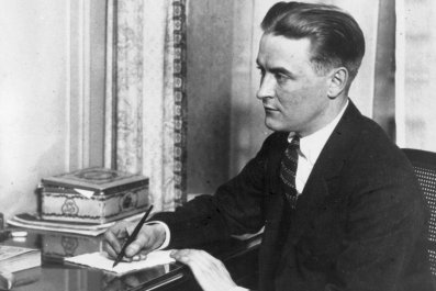 "F. Scott Fitzgerald, author of ""The Great"