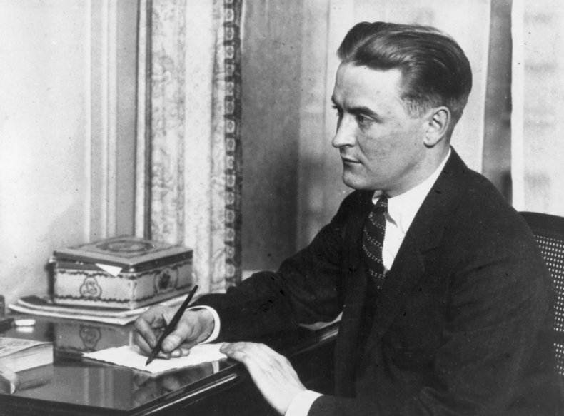 """F. Scott Fitzgerald, author of """"The Great"""