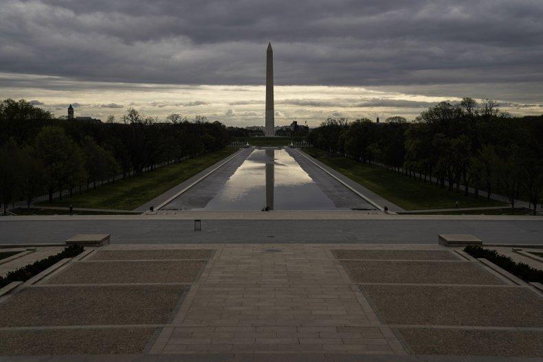 National Mall during coronavirus