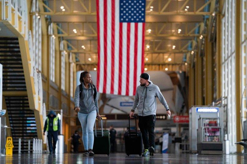 Reagan Airport, Arlington, Virginia, March 2020