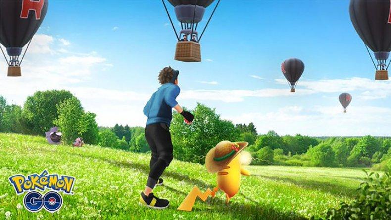pokemon go team rocket balloons