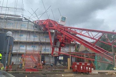 Crane collapse, Bow, London