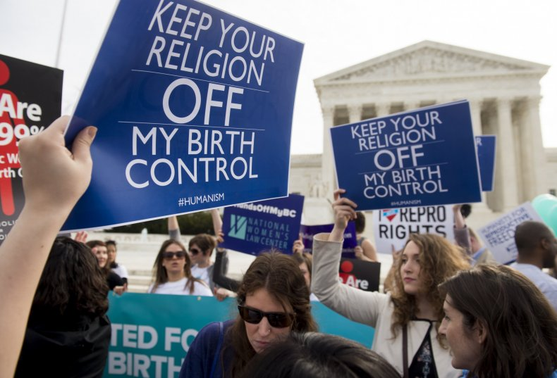 Supreme Court rules on birth control case