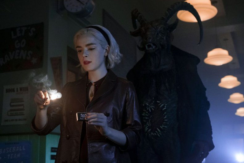 chilling adventures of sabrina cancelled