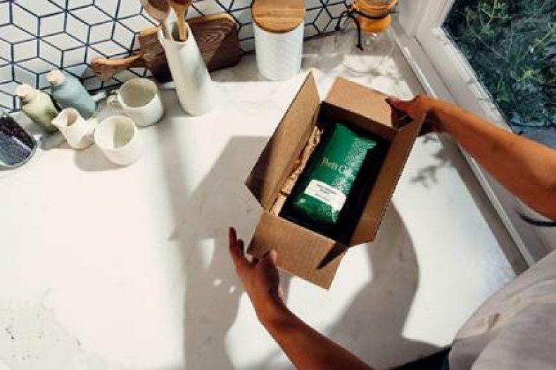 Peet's Coffee in box