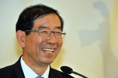 Seoul Mayor Park Won-soon November 2011