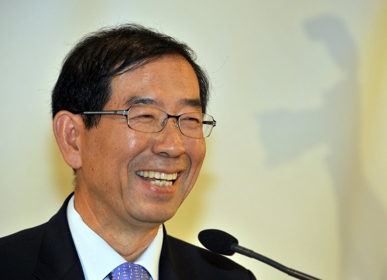 Seoul Mayor Park Won-soon November 2011