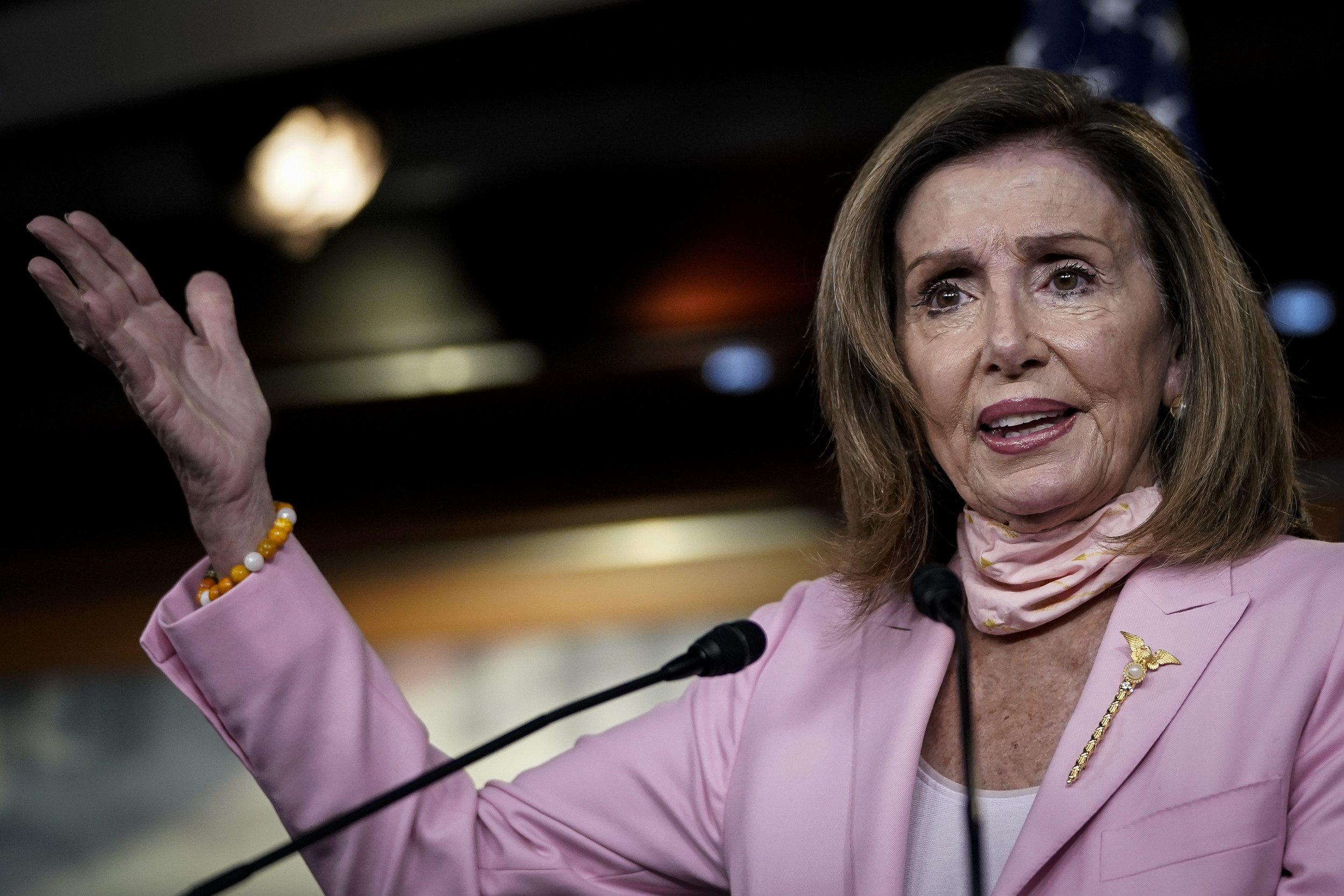 Trump's appointees voted against him, Pelosi says as president criticizes Supreme Court