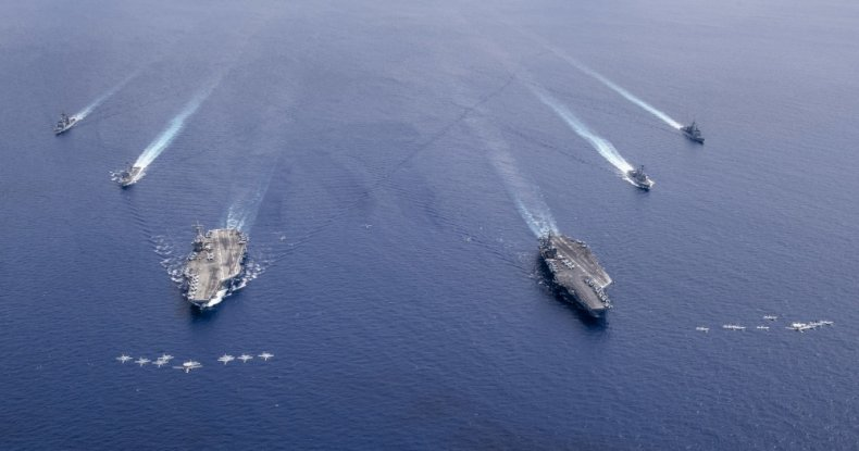 us, aircraft, carriers, south, china, sea