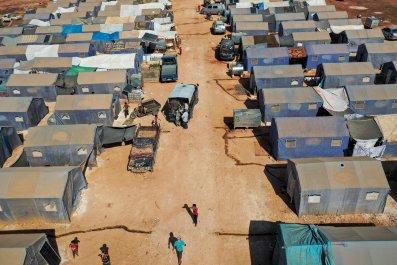 Idlib Syria IDP Camp