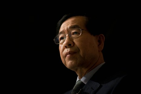 Seoul mayor Park Won-sun May 2014