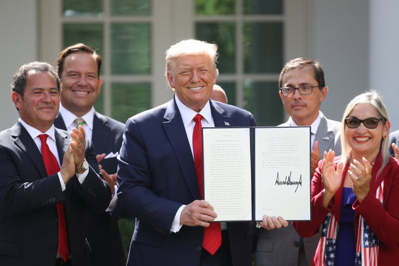 Trump Hispanic Prosperity EO