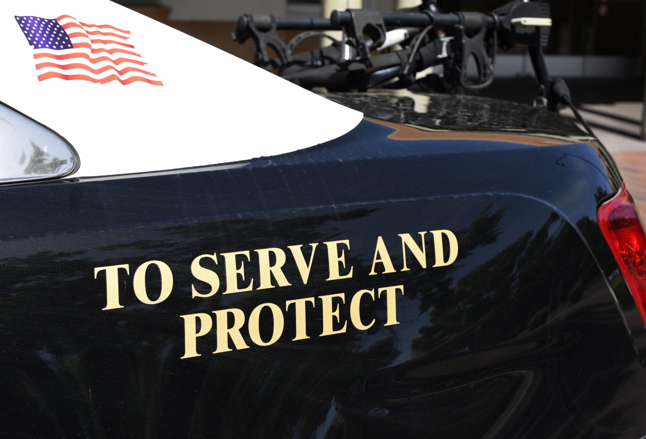 To Protect And Serve... - portada