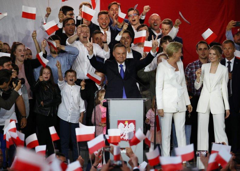 Poland, election, president, results, Andrzej Duda